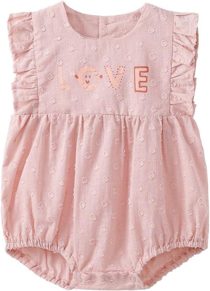 pureborn Baby and Toddler Girls Cotton Dress