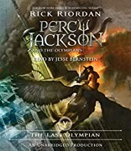 The Last Olympian: Percy Jackson, Book 5 Audiobook by Rick Riordan Narrated by Jesse Bernstein