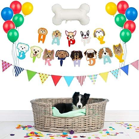 Legendog Fiesta De Cumpleaños para Mascotas Suministros ...