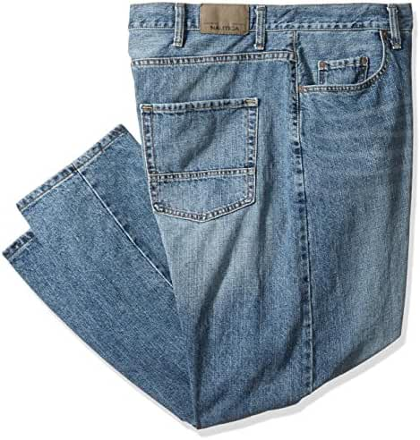 Nautica Men's Big/Tall Relaxed-Fit Jean