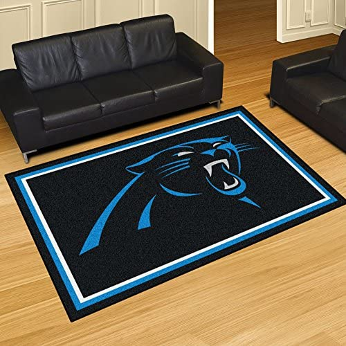 Fanmats Carolina Panthers 5×8 Rug