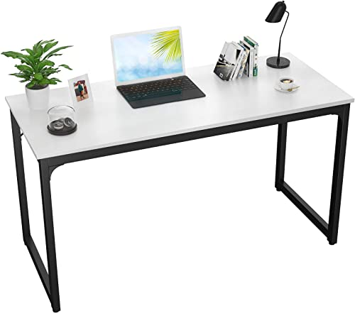 Foxemart Computer Desk 47 Inch Modern Sturdy Office Desk 47″ PC Laptop Notebook Study Writing Table