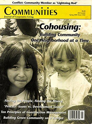 Communities Magazine #106 (Spring 2000) – Cohousing