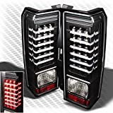 hummer h3 lights - Xtune For 2006-2010 Hummer H3 LED Black Tail Lights Lamp Brand New Tail Lights Pair Left+Right/2007 2008