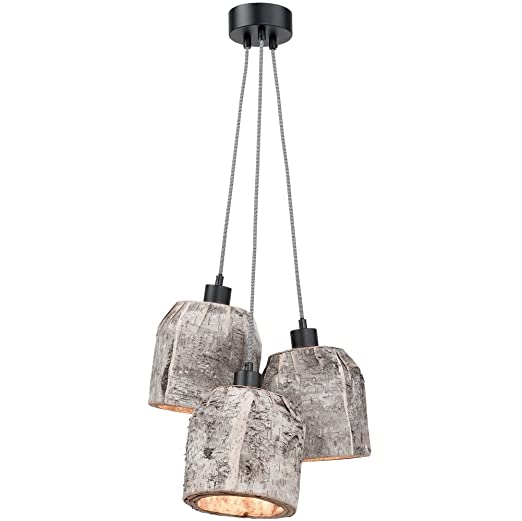 Its About Romi.It S About Romi Aspen Hanging Lamp Birch 3 Shades Amazon Co Uk