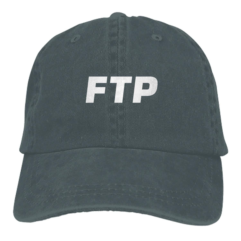 Boeshkey FTP Denim Hat Adjustable Mens Casual Baseball Caps