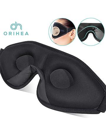 34ff9e14f3e02e OriHea 3D Schlafmaske Damen und Herren. Premium Schlafbrille mit  Innovativem verstecktem Nasenflügel-Design