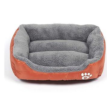 Mzdpp Cómodo Y Cálido Forro Naranja Premium Cama Portátil para Perros Tamaño 3 Tamaño Grande Mediano Y Pequeño 65X50Cm: Amazon.es: Productos para mascotas