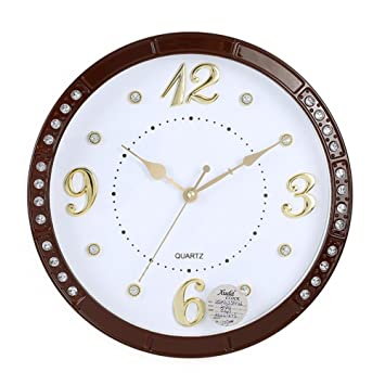 Vintage Große Wohnzimmer Uhr Creative Arts Uhren, Braun: Amazon.de ...