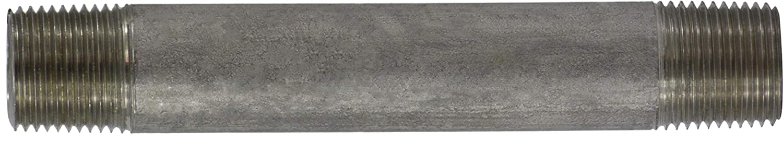 3//8 Diameter 3//8-18 Thread Size 3//8 Diameter 2-1//2 Length Midland Metal 2-1//2 Length 3//8-18 Thread Size Pack of 25 Midland 49-043 SCH 40 Welded 306 Stainless Steel Nipple 306 Stainless Steel