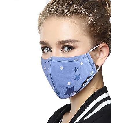Lyanty N99 Máscara de Polen Anti-polvo Anti-bacteriana PM2.5 Anticontaminación Máscara