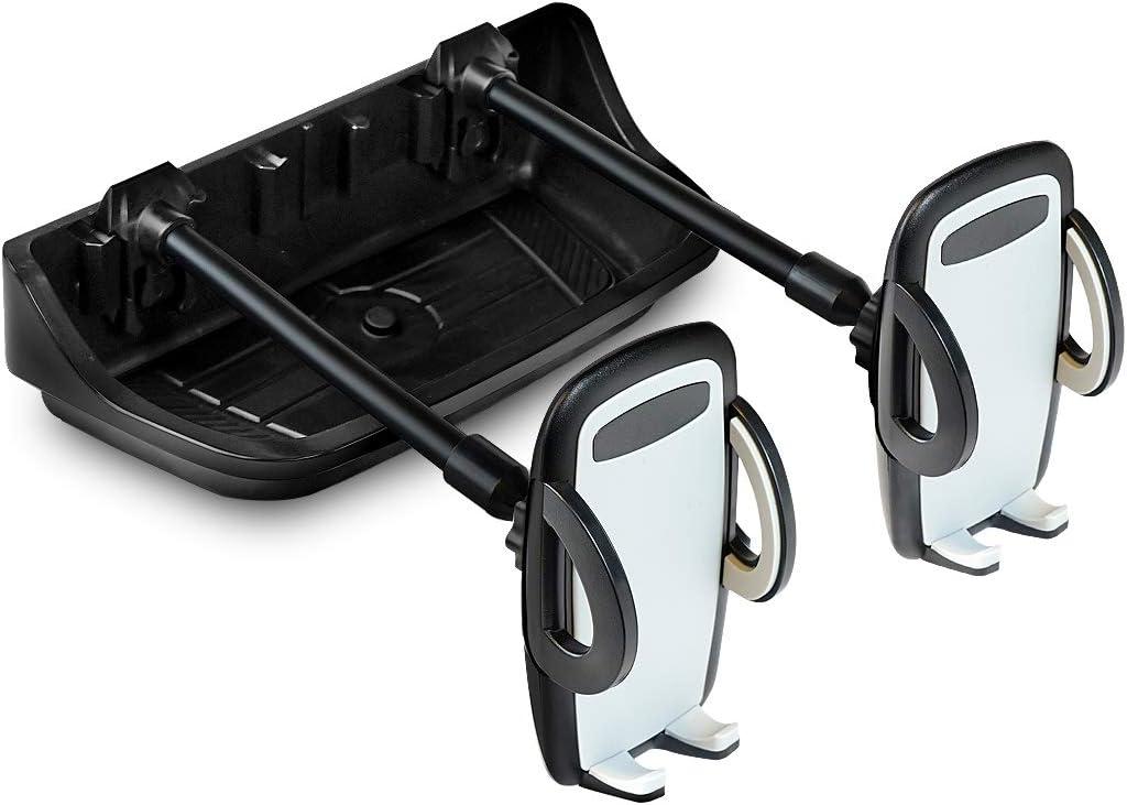 Best cell phone holder for jeep wrangler, best dual phone holder for jeep wrangler