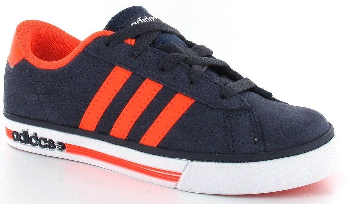 adidas neo se daily vulc grey orange