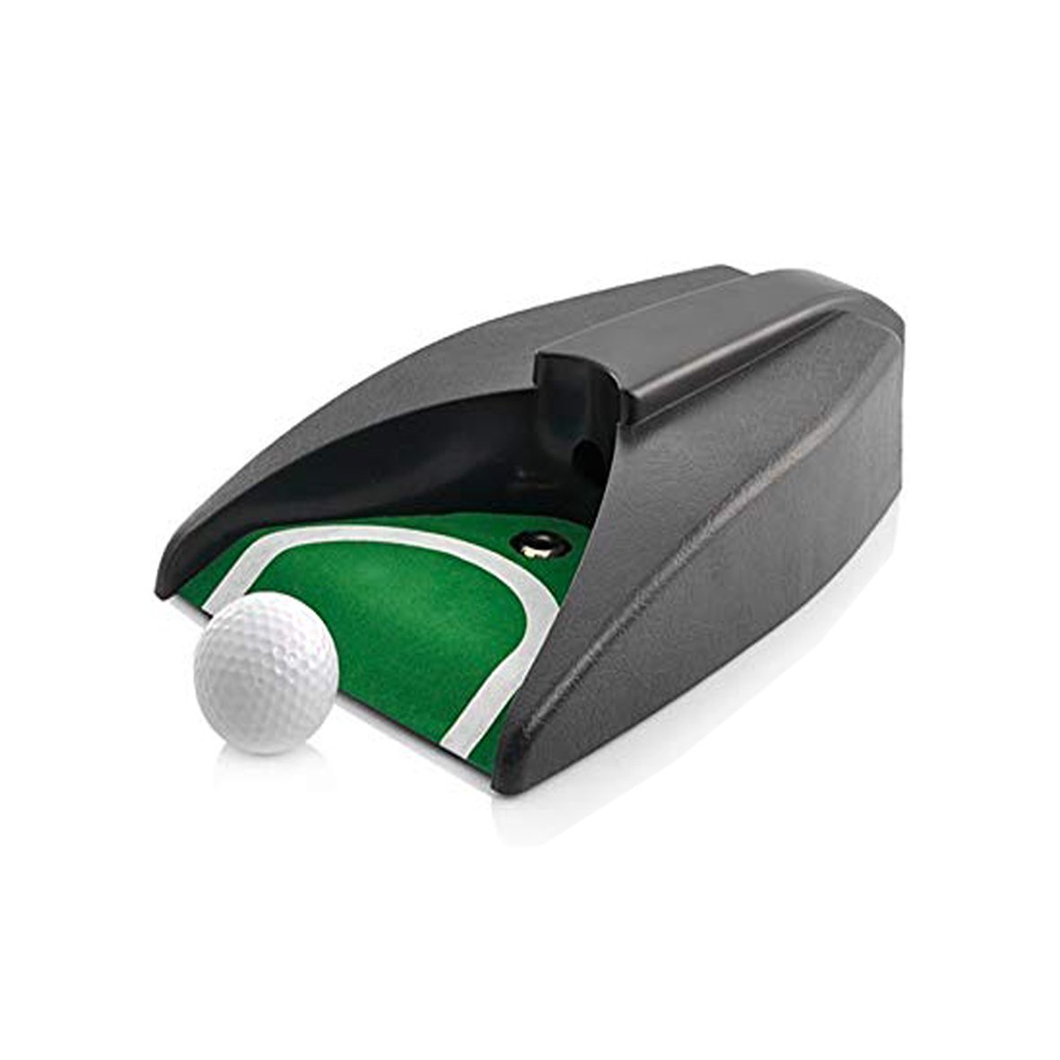 PLAYEAGLE Golf Automatic Putting Cup Indoor Golf Ball Returning Golf Cup Practice Training Aid Golf Practice for Outdoor Yard Office