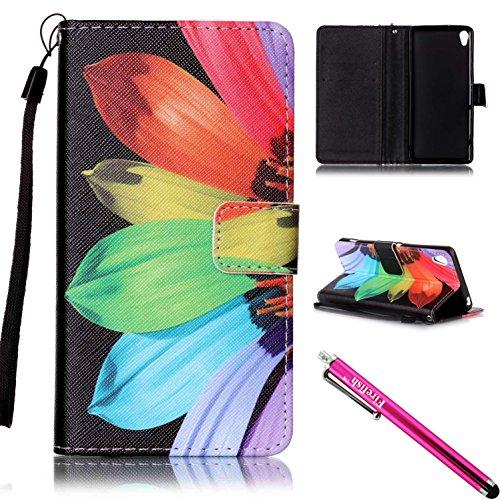 xperia-xa-case-firefish-kickstand-card-cash-slots-lightweight-premium-pu-leather-wallet-flip-cover-w