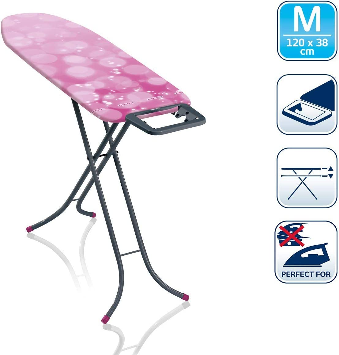 Table à Repasser Classic M Basic Ed.60 ans pink