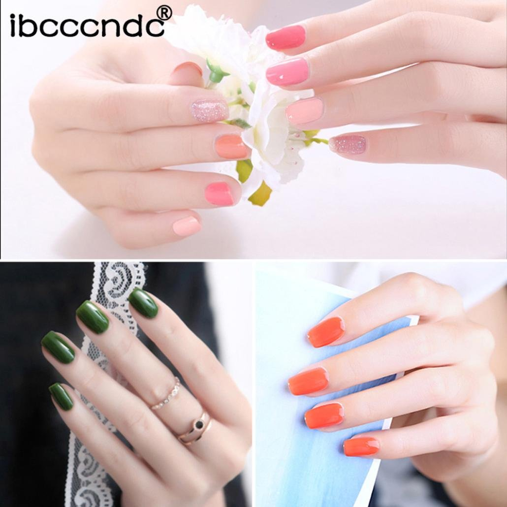 lclrute Sexy Best Seller ibcc cndc photot herapy UV Nail Polish Women 10 ml Gel Nail Polish Nail Art Nail Gel polish, E: Amazon.es: Instrumentos musicales