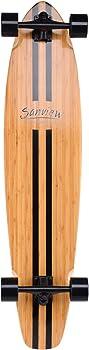 SANVIEW Bamboo Heavier Riders Longboard