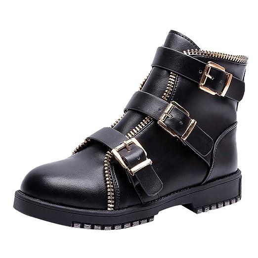 9ae64c83fb44 Amazon.com  Clearance Sale! Caopixx Boots for Women Ladies Ankle ...