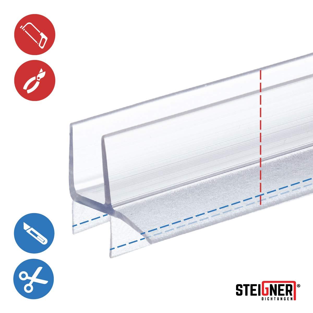 STEIGNER 190 cm Junta Repuesto Para el Vidrio 5mm/6mm Junta ...
