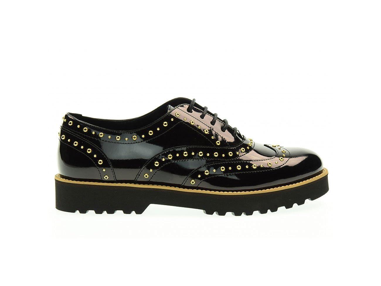 Hogan Zapatos EN Cuero Negro, Mujer. 36.5 EU
