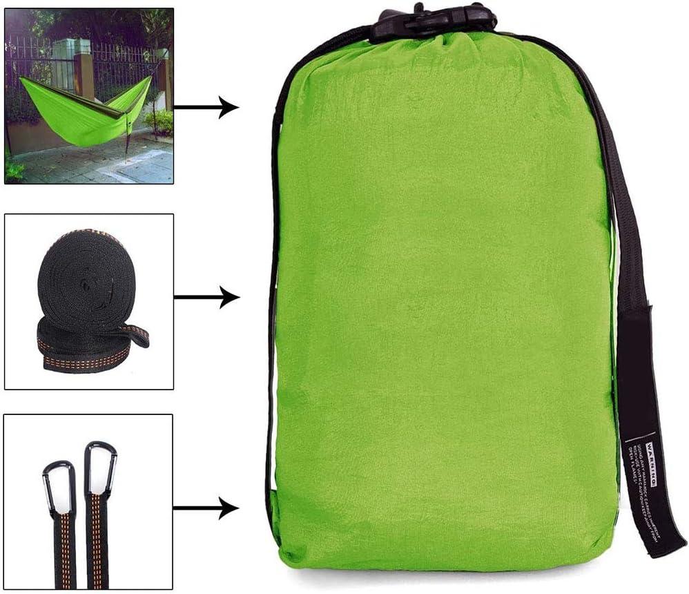 LITI Amaca da campeggio singola da paracadute leggera in nylon portatile per adulti e bambini