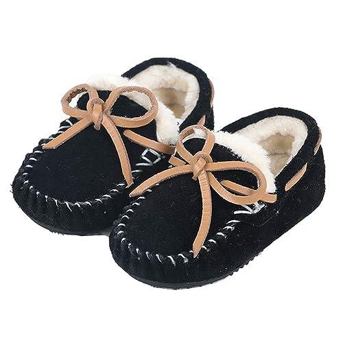 Mocasines para niños Zapatos de Invierno Suede Upper: Amazon.es: Zapatos y complementos