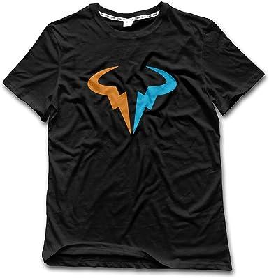 Amazon Com Fflying Men S Rafa Nadal Logo T Shirt Clothing