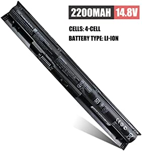 V104 VI04 Laptop Battery 756743-001 Replacement for HP ProBook 440 G2 450 G2 TPN Q139 Q140 Q141 Q142 Q143 HP Envy 14 15 17 Series fit 756743-001 756745-001 756479-421 HSTNN-LB6J HSTNN-DB6K HSTNN-LB6K