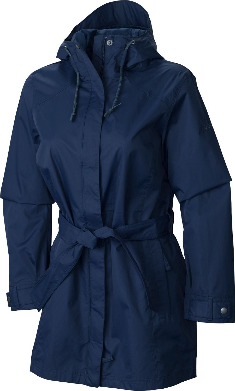 Columbia Women's Pardon My Trench Rain Jacket (Nocturnal 01, Small)