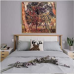 dubdubd Estudio De Pinos Van Gogh, Famoso Artista Maestro
