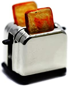 Vintage 2 Slice Toaster Bread Machine Dollhouse Miniatures Food Kitchen by Cool Price