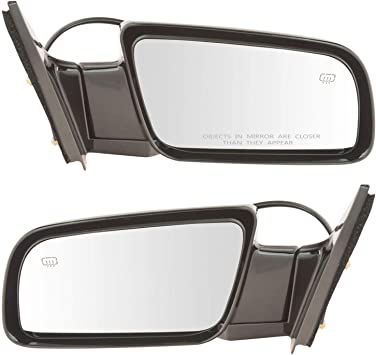 New Set of 2 Mirrors Driver /& Passenger Side Heated Chevy Suburban LH RH Pair