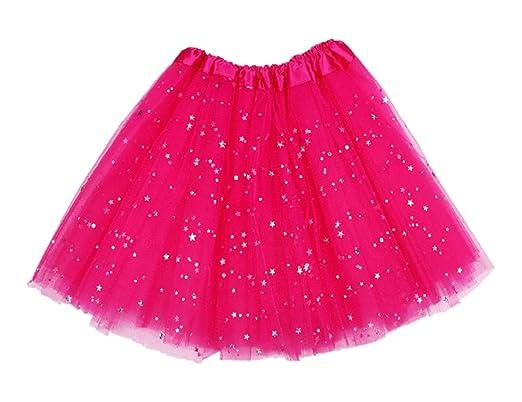 Lee Little Angel - Falda - para niña Rojo Rosa Roja Talla única ...