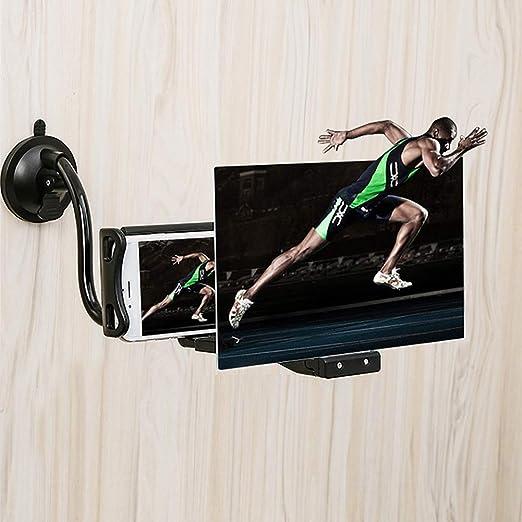 8 pulgadas con soporte para teléfono Lazy pantalla Lupa Lupa ...