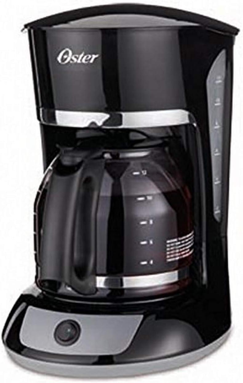 Oster bvstdcmv13 – 053 12 taza cafetera eléctrica, 220 voltios (no para EE. UU.): Amazon.es: Hogar