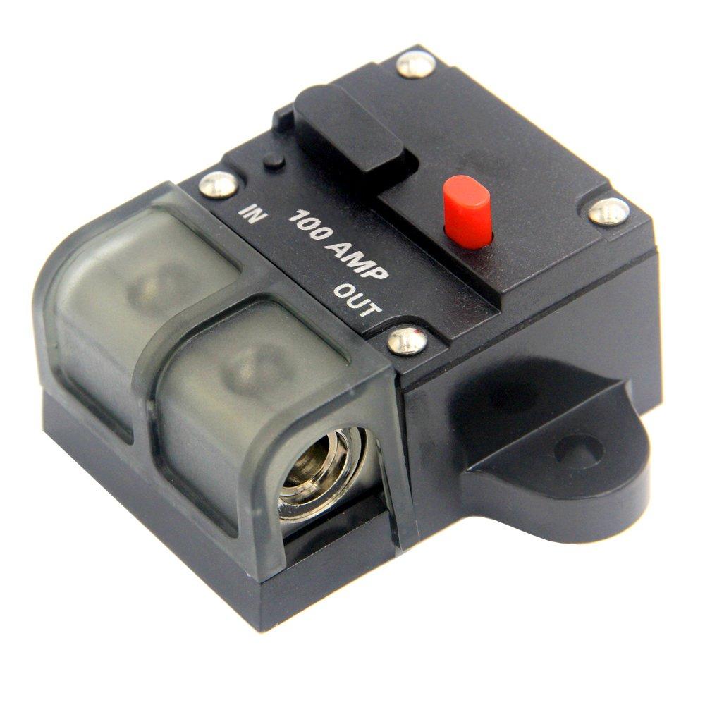 ZOOKOTO 300 Amp Circuit Breaker, Automotive High Current 0 2 4 8 ...