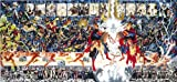Crisis on Infinite Earths Oversized Poster by Alex Ross & George Perez