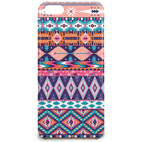 Phone Case For Apple iPhone 5C - Pastel Aztec Tribal Geometric Snap-On Hardshell