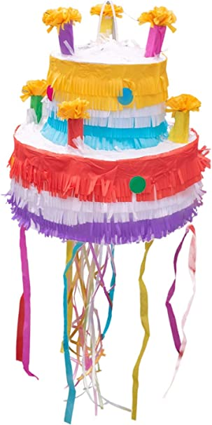 zum selbst befüllen Pinata Geburtstag Torte Kindergeburtstag Piñata Kuchen