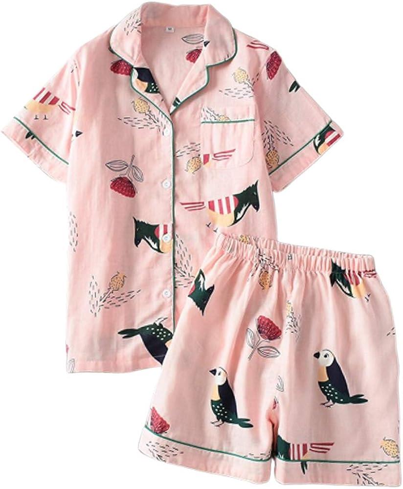 Doxi Pijama de piña para Mujer con Camisa y Pijama Corto Kawaii - Rosa - M: Amazon.es: Ropa y accesorios