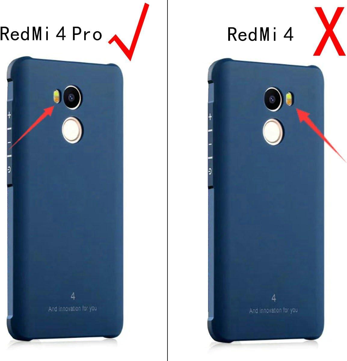 FaLiAng XiaoMi RedMi 4 Pro Funda, Serie Negocios A Prueba de ...