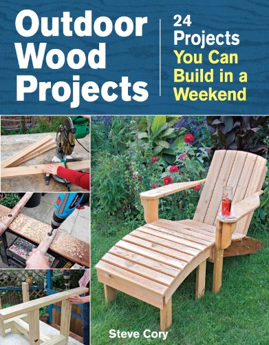 Outdoor Wood Projects: 24 Projects You Can Build in a Weekend (Ideas Easy Backyard Patio)