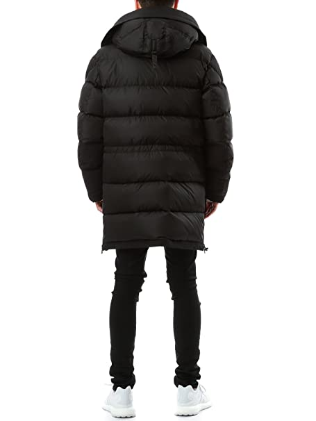 Wiberlux Moncler Loic Men's Lined Hood Padded Coat 4 Black: Amazon.ca: Clothing & Accessories