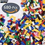 ◆ 680 pieces ◆ ▷Empower your child with the skills needed for a bright and successful future,Inspires and encourages imagination. ▷Each Brick will take your Builder on a New Adventure!This collection bricks will encourage open-ended building play and...