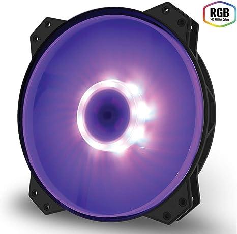 Cooler Master Mf200R RGB - Ventilador de Caja, Color Negro: Amazon ...