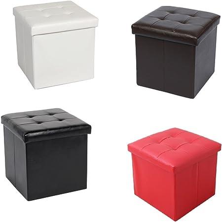 37 x 37 x 37 cm LSF90B – Taburete Cubo Cubo Caja Muebles: Amazon.es: Hogar