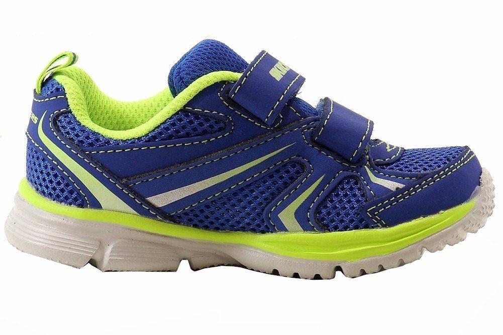 Skechers Kids 95083N Speedees - Burn Outs Sneaker,Blue/Lime,6 M US Toddler by Skechers (Image #3)