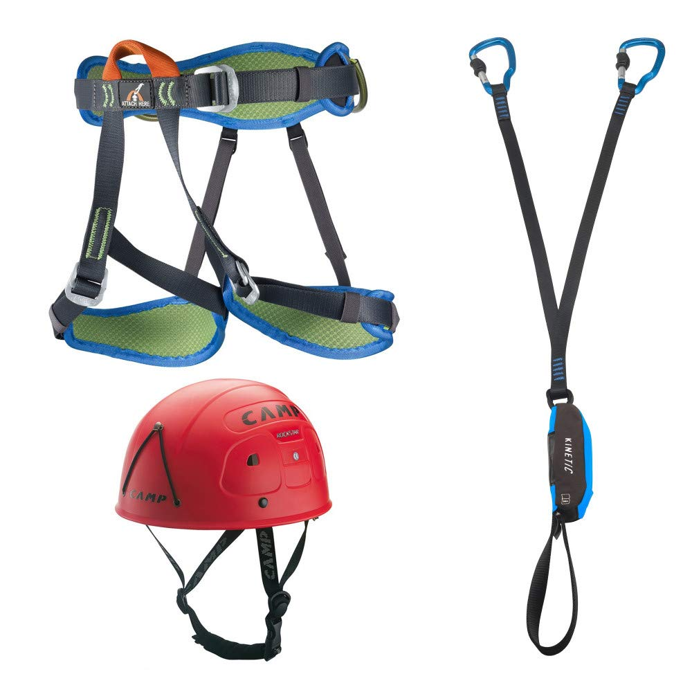 CAMP Kit Via Ferrata Kinetic: Amazon.es: Deportes y aire libre