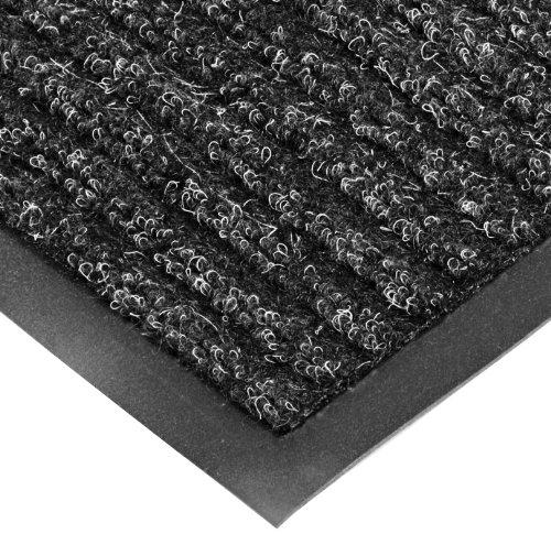 4 Scraper (NoTrax T39 Bristol Ridge Scraper Carpet Mat, for Wet and Dry Areas, 4' Width x 8' Length x 3/8